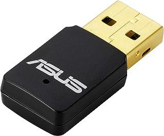 Asus USB-AC56 Dual-Band Wi-Fi USB-stick (WiFi 5 AC1200, USB 3.0 High-Speed, Windows Mac & Linux compatibel) N300 (2x2n Mini)