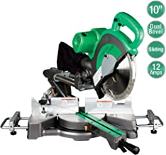 """Metabo HPT C10FSBS 10"""" Sliding Compound Miter Saw, Double-Bevel, Electronic Speed.."""
