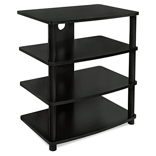 Charmant Mount It! Media Stand Entertainment Center For TV, Audio Video Components,  Stereo