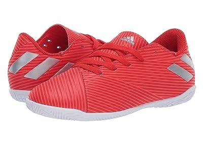 adidas Kids Nemeziz 19.4 IN Soccer (Little Kid/Big Kid) (Red/Silver/Solar Red) Kid