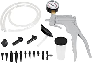 Performance Tool W87030 One Man Automotive Hand Vacuum Pump Test & Brake Bleeder Kit