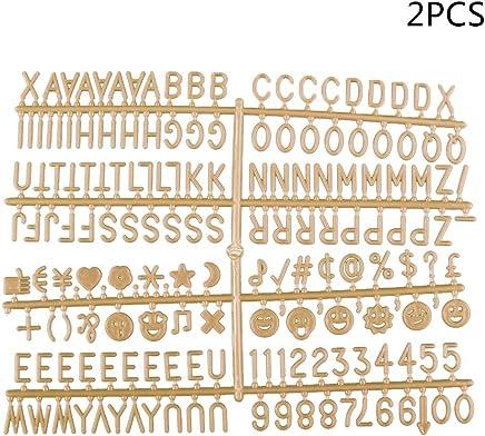 Amazon.es: letras de fieltro - Pizarras y tableros ...