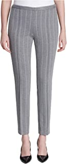 Calvin Klein Women's Pinstriped Ankle Pants