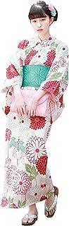 (ソウビエン) 浴衣 レディース 3点セット レトロ 18タイプから浴衣が選べる fb06