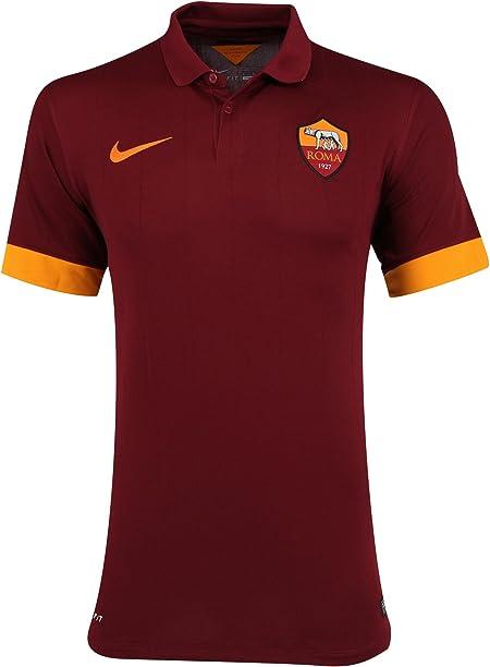Nike Maglia da Calcio Gara JR Boys AS Roma Home 2014/15 Prodotto Ufficiale