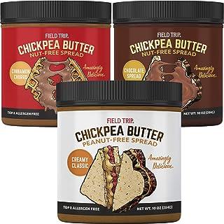 Field Trip Chickpea Butter | Healthy Vegan Snacks, Gluten Free, Non GMO, All Natural Creamy Almond Butter Substitute, Top ...