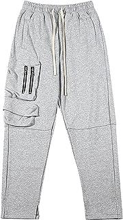 Mężczyźni Luźne spodnie, Elastyczność Zwykłe Męskie Spodnie dresowe z kieszeniami na suwak Można prać Nie blakną Trwałe Mę...