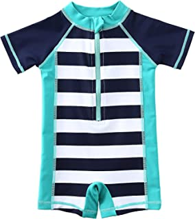 Wishere Kids Boy Girl Rash Guard Swimming Shirt UPF 30+ Baby Swimsuit