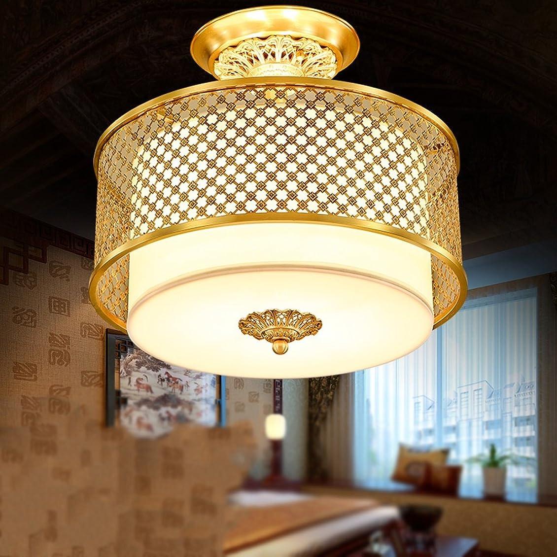 喜ぶスキップ博物館YSYYSH 銅の天井ランプレストランライト暖かい寝室ランプパーソナライズされたインテリア照明創造的な天井ランプ 寝室の装飾ライト (Size : 40*30cm)