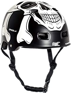 Awe Meet Your Maker Bmx Negro 55-59Cm del Casco Reemplazo Libre de 5 Años del Crash