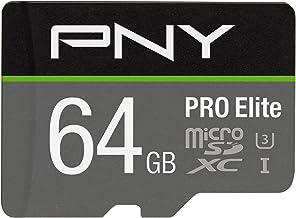 PNY 64GB PRO Elite Class 10 U3 microSDXC Flash Memory Card