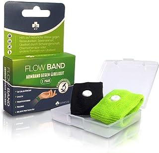 Sanicos Flow Band – wysokiej jakości bransoletka do akupresury – niezawodnie uwalnia od nudności – naturalnie skuteczny w ...
