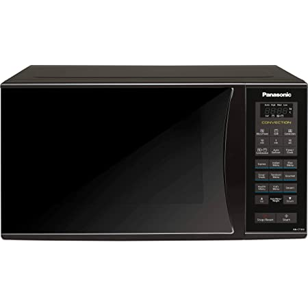Panasonic 23L Convection Microwave Oven(NN-CT353BFDG,Black Mirror, 360° Heat Wrap)