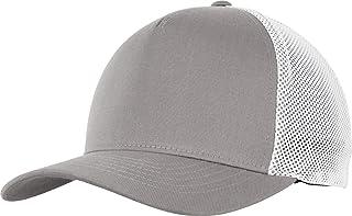 Flexfit 110 Trucker Cap, Grey/White, one Size