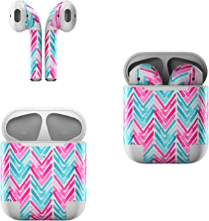 Skin Decals for Apple AirPods - Sweet Chevron - Sticker Wrap Fits 1st and 2nd Generation