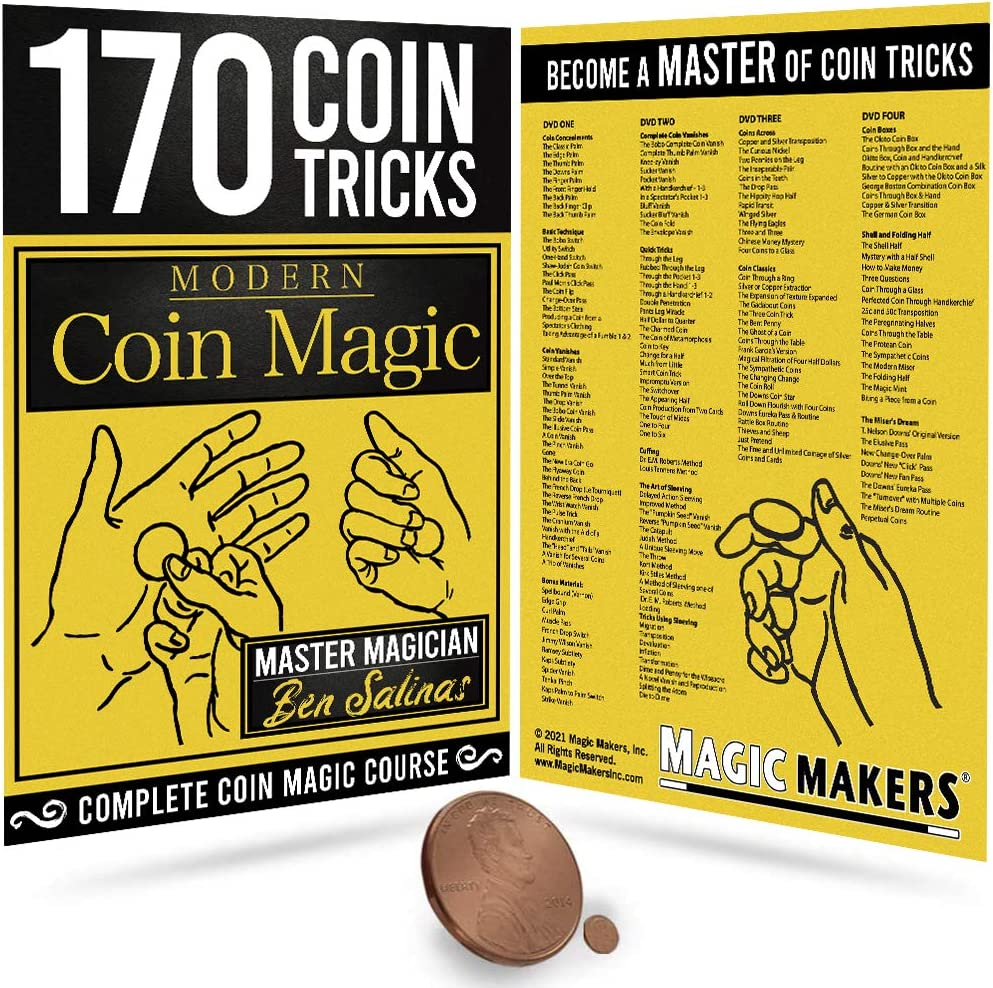 Magic Makers Modern Challenge the lowest price Coin Tricks security 170 Kit