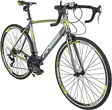 Merax Finiss Road Bike Aluminum 21 Speed 700C Racing Bicycle