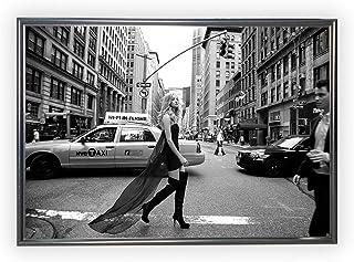 Aroma of Paris アートポスター おしゃれ インテリア 北欧 モノクロ アート #199 A1 ブラックフレーム