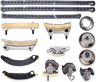 PUENGSI Timing Chain Kit Replacement fit for 2013-2015 Cadillac ATS / XTS Chevy 2008-2015 Equinox / Camaro / Caprice / Captiva Sport / Equinox / Impala / Malibu / Travers
