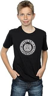 Boys Toy Story Evil Dr Pork Chop Logo T-Shirt
