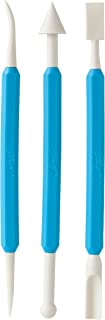 Ateco 4205 Nonstick Double-End Fondant Scuplture Tools, 3 Piece Set