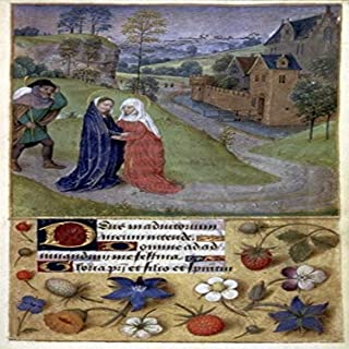 The Visitation Nillumination From A Latin Book Of Hours France Or Belgium C1480 Poster Print by (24 x 36)