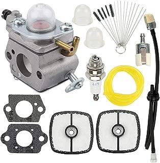 Hayskill C1U-K78 Carburetor Carb with Air Filter Fuel Tune Up Kit for Echo Shredder ES210 ES211 EB212 SV212 PB200 PB201 Shredder Replace A021000940 A021000941 A021000942