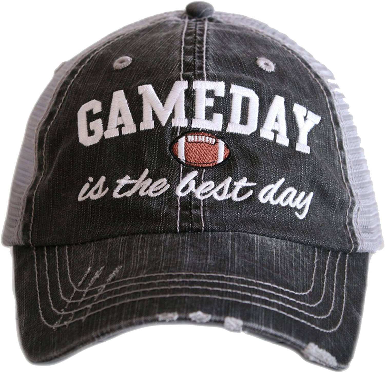 GameDay Is The Best Day Women's Trucker Hats Caps by Katydid