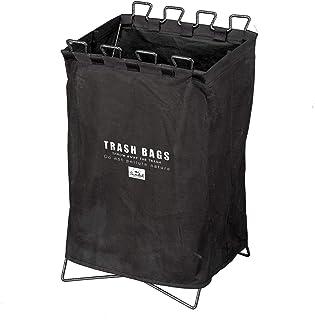 BUNDOK(バンドック) ゴミ スタンド BD-903 目隠しカバー付 軽量 折りたたみ ごみ袋 ホルダー 分別
