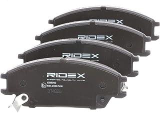 Set of 4 Ridex 402B0194 Bremsbelagsatz Scheibenbremse
