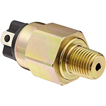 Pack of 10 1//4 BSPM SS Fitting Gems PS72-30-4MGS-C-FLS18 Series PS72 General Purpose Mini Pressure Switch 18 Flying Leads with Tubing 65-300 psi Range SPDT Circuit
