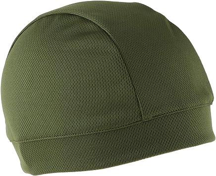 Skull Cap Helm-Unterziehmütze Sportmütze Unterziehhaube Radmütze Grün