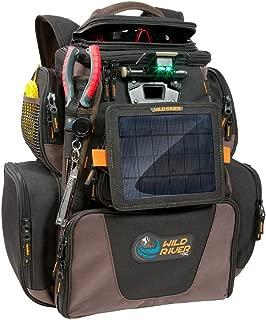 Wild River Tackle Tek™ Nomad XP™ Lighted Backpack w/USB Charging System, SP01 Solar Kit & Trays (52954)