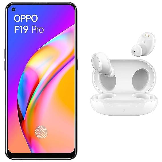 OPPO F19 Pro (Fluid Black, 8GB RAM, 256GB Storage) with No Cost EMI/Additional Exchange Offers +OPPO W11 TWS