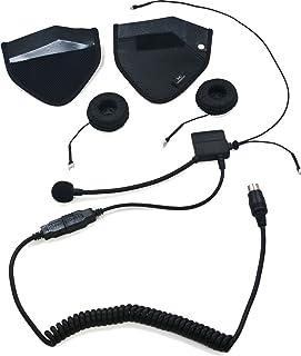 iMC Motorcom HS-H110P Full-Face Helmet Headset for 7 Pin Harley Davidson Audio Systems