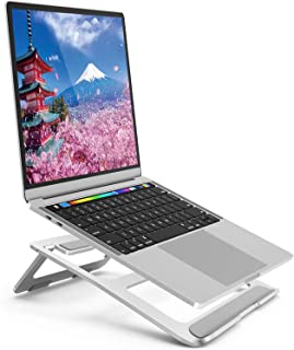 Notebook Stand Folding Heatsink Stand Height Angle Adjustable Aluminum Alloy PC/MacBook/Laptop/iPad/Tablet (Style 3)