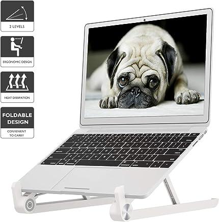 1home Soporte Plegable portátil del Ordenador portátil Soporte Ajustable del Cuaderno para Mac Book Tablet