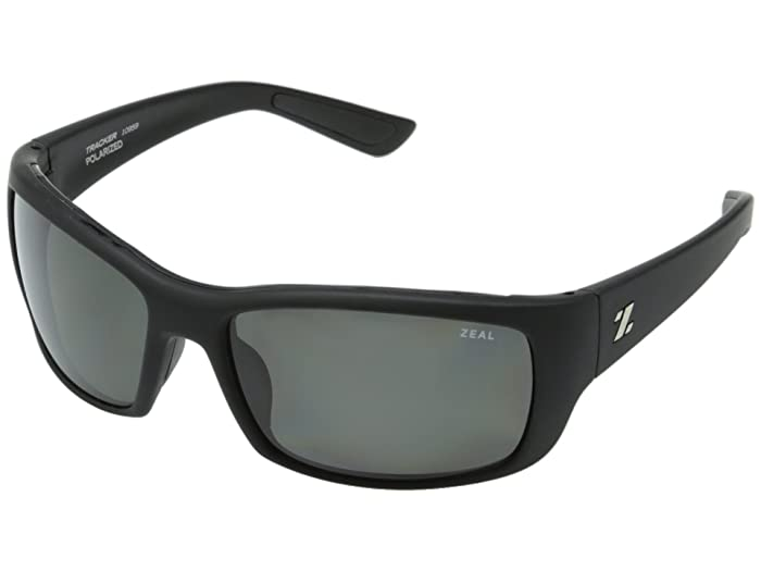 Zeal Optics  Tracker (Tactical Black withPolarized Dark Grey Lens) Sport Sunglasses