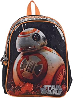 2a329b0b91be Star Wars BB-8 Backpack for Kids 15 Inch School Bag  Black