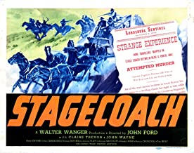 Posterazzi Stagecoach Art 1939 Movie Masterprint Poster Print (14 x 11)