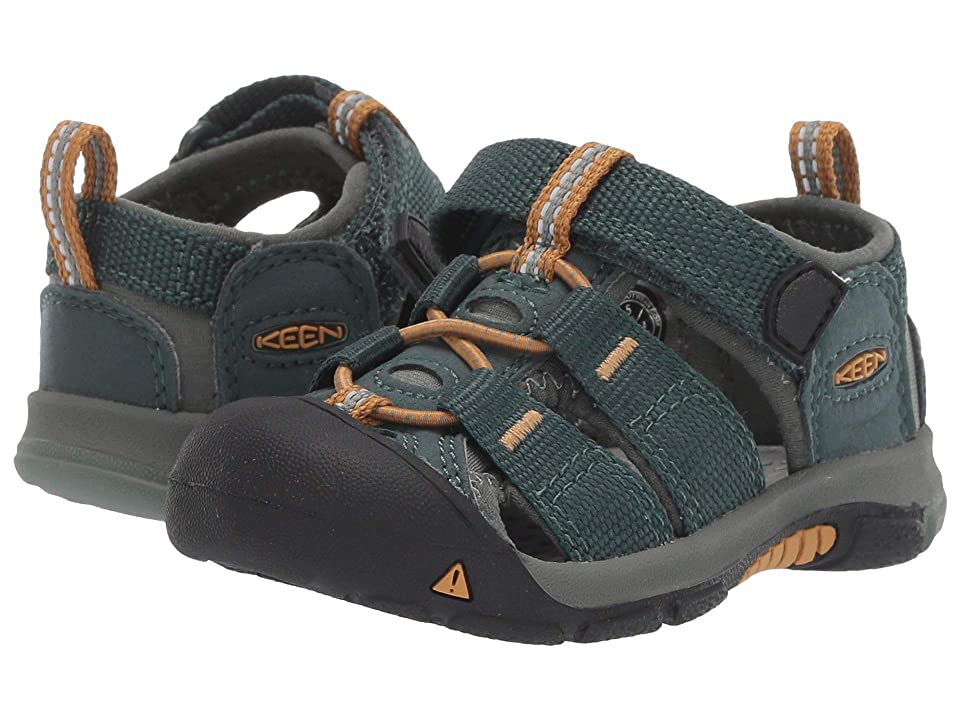 e351f8ae8436 Keen Kids Newport H2 (Toddler) (Green Gables Wood Thrush) Kids Shoes