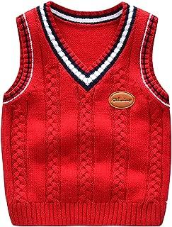 boys knitted waistcoat