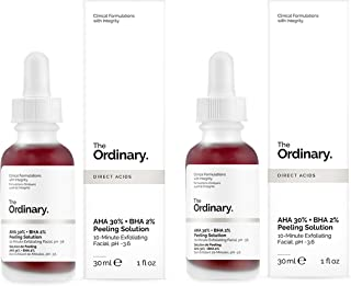 The Ordinary AHA 30% BHA 2% Peeling Solution 30ml, 10-Minute