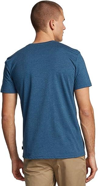 Quiksilver Slab - Camiseta con Bolsillo para Hombre Camiseta Hombre