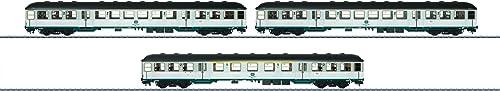 M lin 58343 - Wagen-Set Silberlinge DB