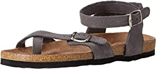 Northside Women's Priya Sandal, Gray, 6 M US
