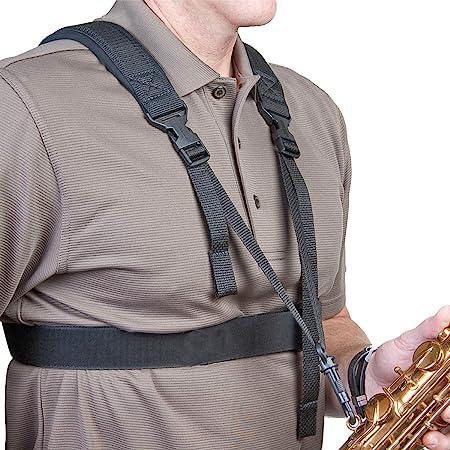 Neotech Sax Practice Harness, Swivel Saxophone Strap (2501512)