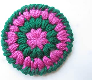 Set of 4 Crocheted Coasters 3.75