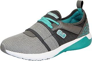 Columbus Mens Grey Aqua Sports Running Shoes KM-05-43
