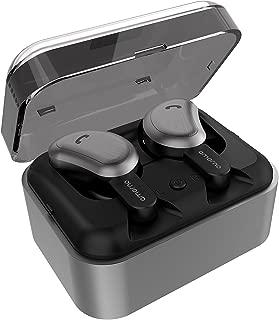 【進化版Bluetooth5.0 CVCノイズキャンセル6.0技術 Siri対応 】 Bluetooth イヤホン 完全ワイヤレス イヤホン 両耳通話対応 Amorno bluetooth イヤホン Hi-Fi 高音質 ノイズキャンセリング マイク内蔵 自動ペアリング 充電式収納ケース付き iPhone & Android適用 左右分離型